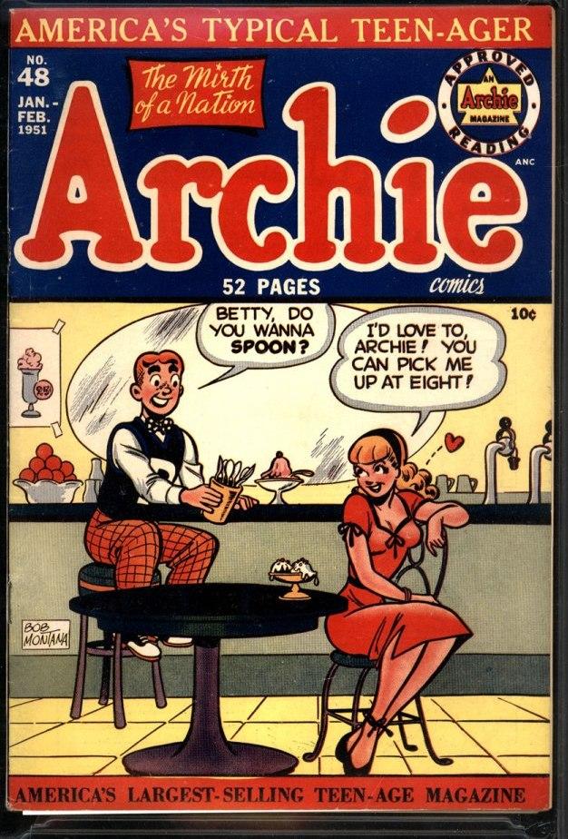 COMIC BOOK JONES Archies Pal Bob Montana