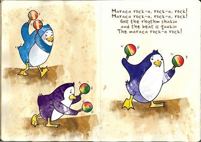 Even the Penguins are Maraca Rockin'