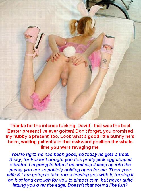 sissy slave captions