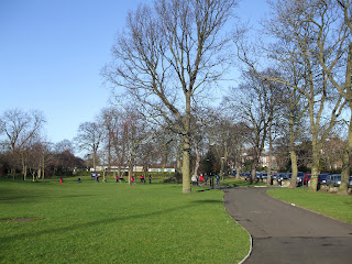 Brandling Park, Newcastle upon Tyne. February 2008