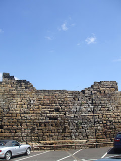 Newcastle Town Walls - Orchard Street