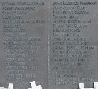 Stocksfield War Memorial