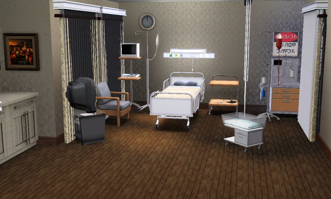 Jamee S Sims 3 Hospital For Story Telling