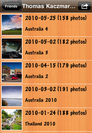 how to create a photo album on facebook from iphone