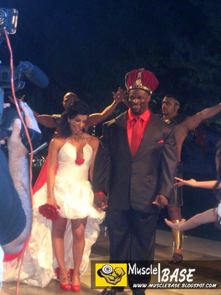 Ronnie Coleman Wedding Ronnie Coleman Wedding Ceremony