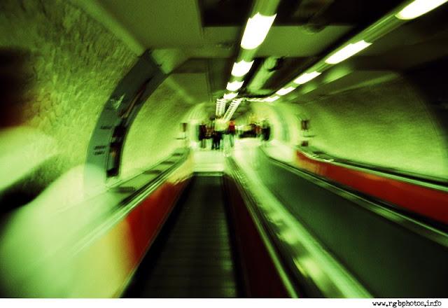 La metropolitana di Roma in cross process