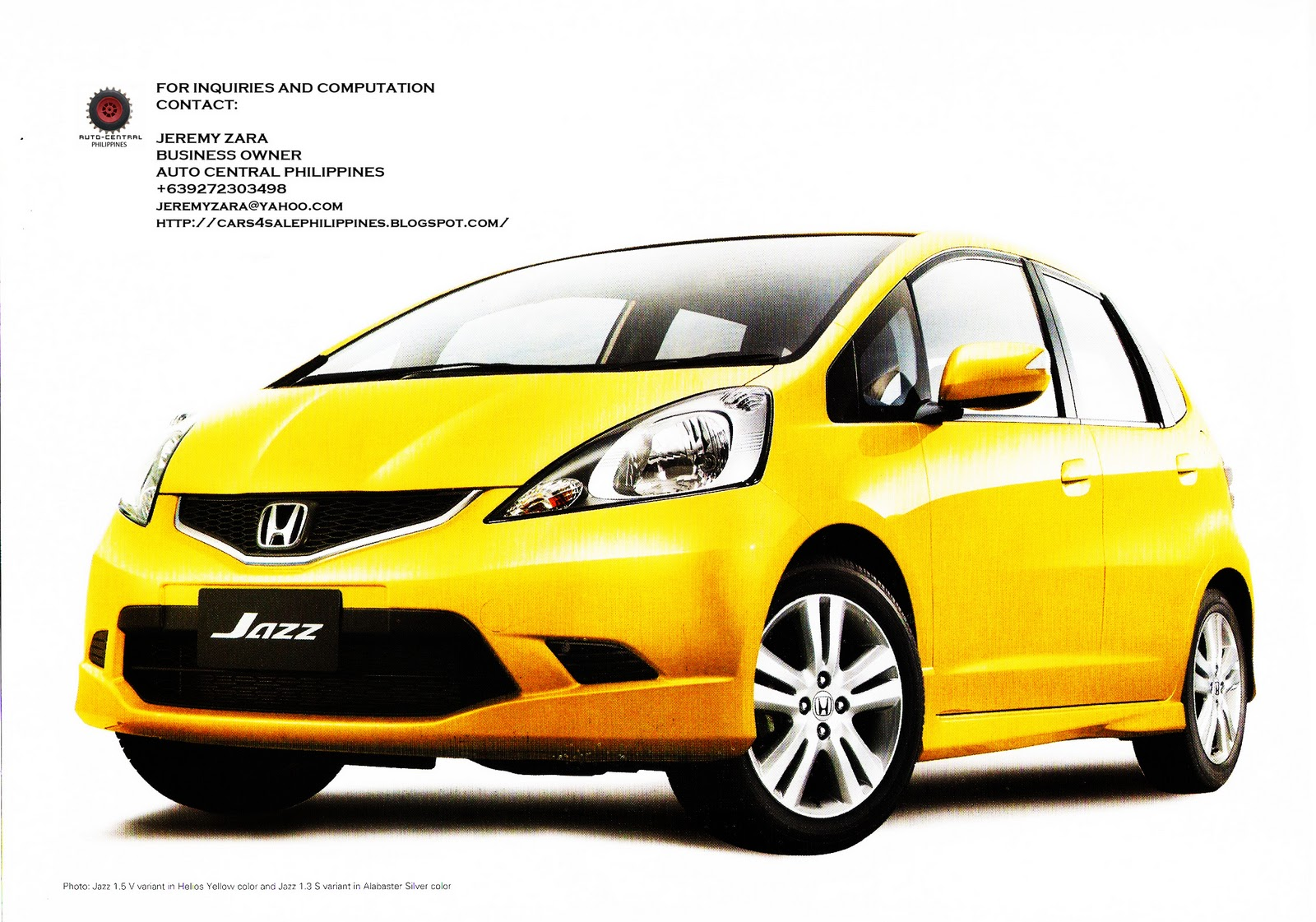 2011 Honda Civic For Sale >> Brand New Cars for Sale: BRAND NEW HONDA JAZZ FOR SALE