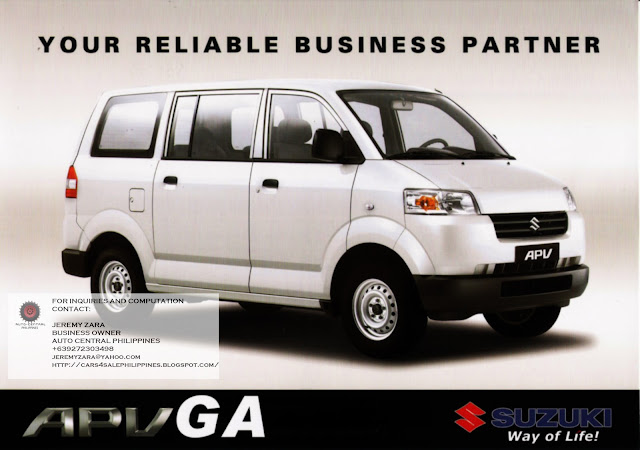 Cars For Sale Philippines Brand New: Brand New Cars For Sale: BRAND NEW SUZUKI APV FOR SALE