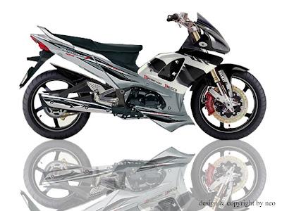 Modifikasi Motor Honda Supra X 125 PGM Fi Injeksi Top Non