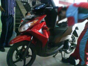 Yamaha Mio 125 cc Thailand Scooter Matic 2010  Spesifikasi Harga Motor Modifikasi jupiter z mx