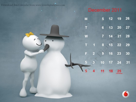 Vodafone Zoo Zoo of Calender 2011 Wallpapers, Photos, Collections