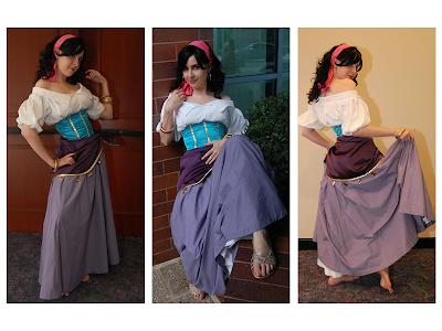 Esmeralda costume I want to recreate. | MY Costumes ... |Diy Esmeralda Costume