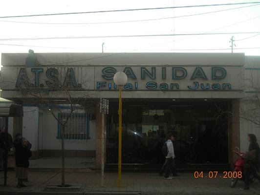 Modid Cuyano - Rama Sindical  Gremio A.T.S.A Sanidad filial San Juan 61de5fac56be3