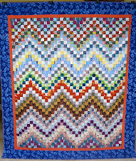 "Scrappy 2"" Bargello"