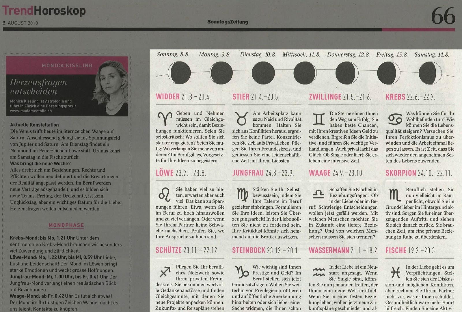 Bild Zeitung Horoskop Krebs