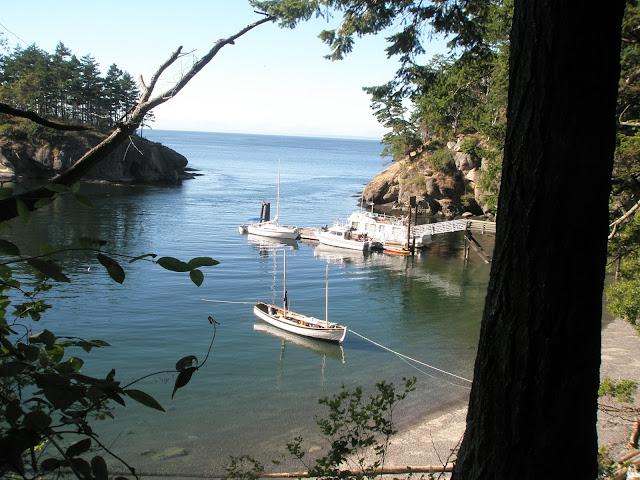 Matia Island State Park dock