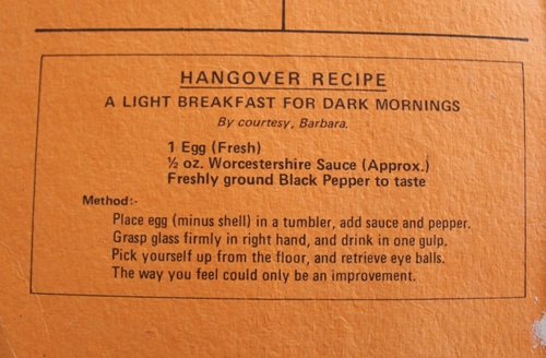 Harston CWA Recipe Book