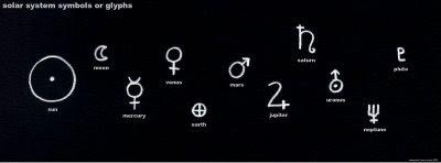 solar system symbols - photo #11