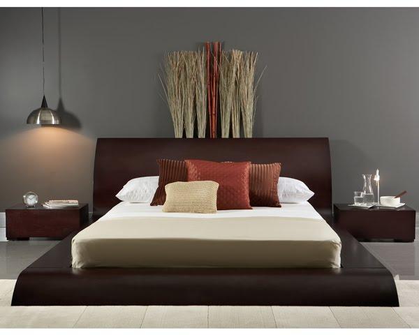 casas minimalistas y modernas camas y cabeceros. Black Bedroom Furniture Sets. Home Design Ideas