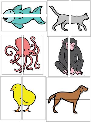 Tiere Verbinden Spiel