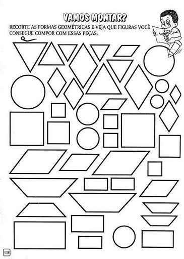 Cantinho da educação: Formas geométricas