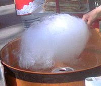 Spinning candyfloss