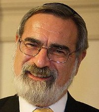 Sir Jonathan Sacks, Chief Rabbi of the UK
