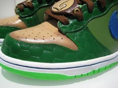9e30f1660aab Thirst - Incredible Hulk Nike Dunk High s
