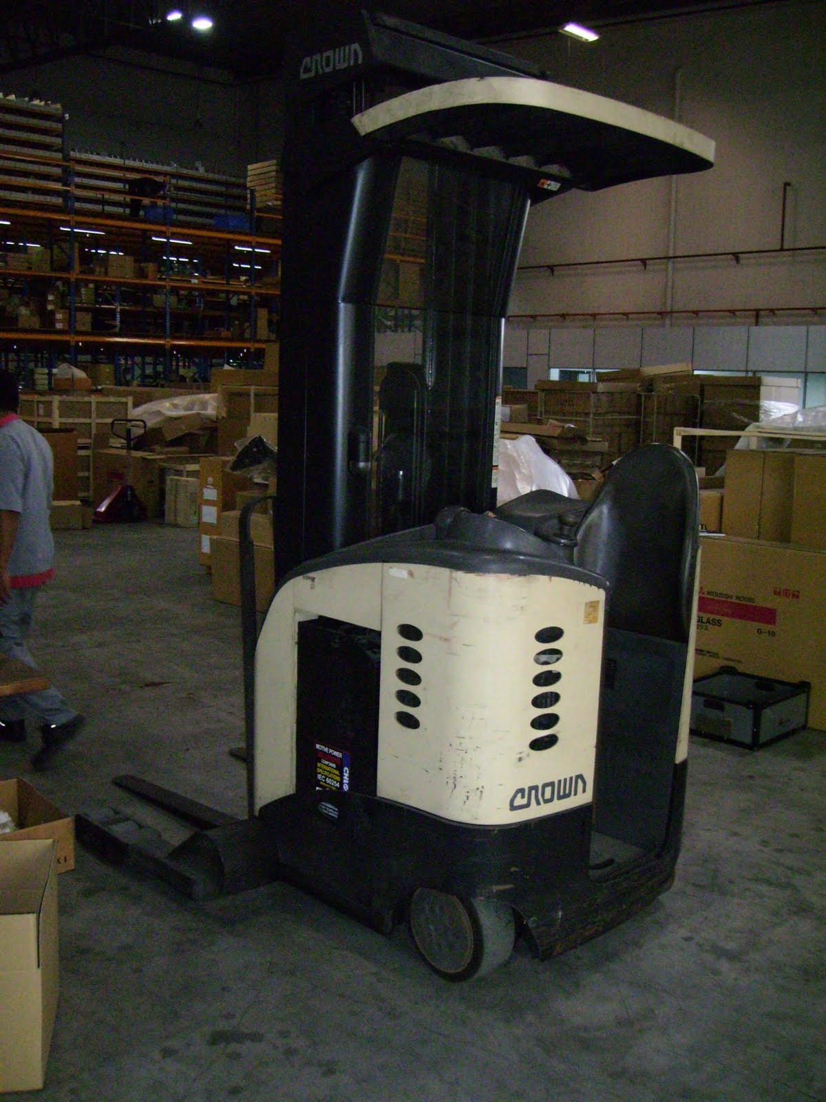 New And Used Forklift Used Crown Reach Truck