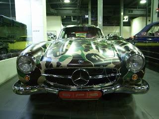 Woman Mercedes