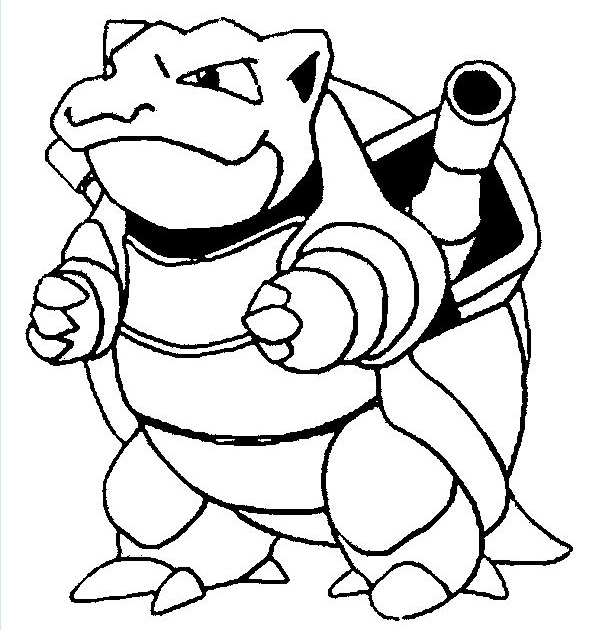 pokemon coloring pages blastoise pokemon coloring pages
