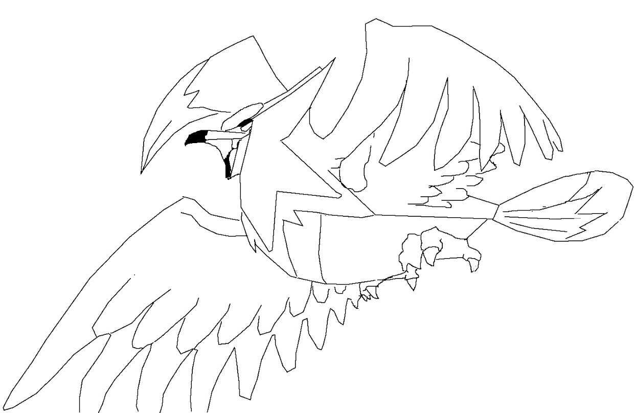 Shadow Lugia Pokemon Coloring Coloring Pages