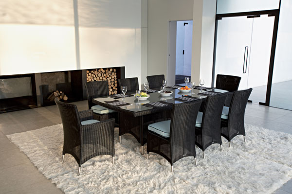 blue dining room set   Ideas Furniture 2011: May 2010
