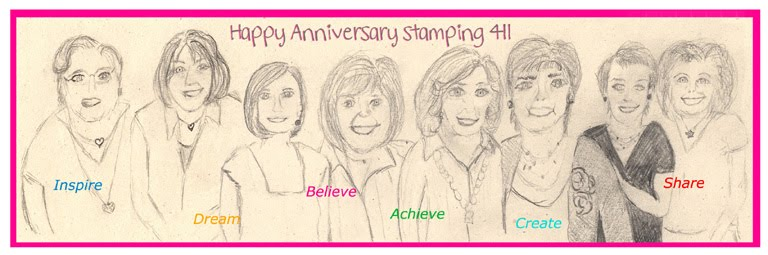 Happy Anniversary from your Stamping 411 Operators
