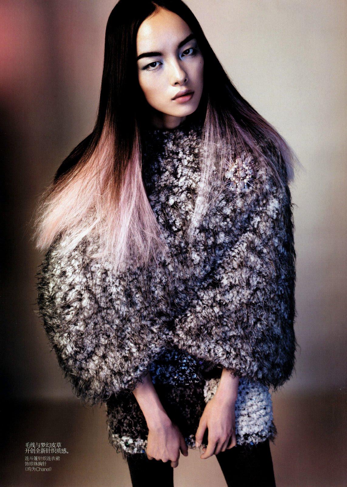 ASIAN MODELS BLOG: Han Jin Editorial for Vogue Korea