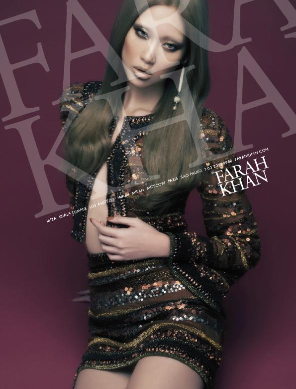 ASIAN MODELS BLOG: Angie Ng in Ad Campaign for Farah Khan