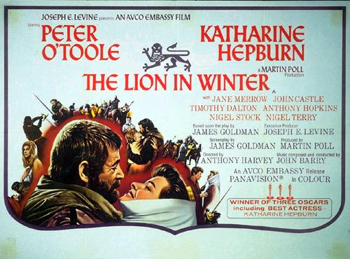 A review of john goldmans the lion in winter