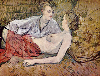 'Two Friends' by Toulouse Lautrec