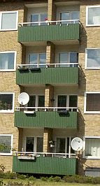 Malmö: The suicide balconies
