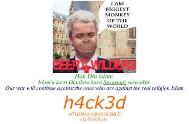 Geert Wilders monkey