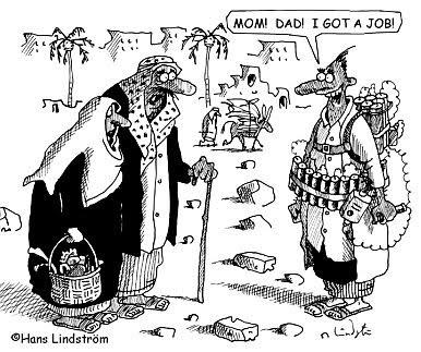 Hans Lindström cartoon #1