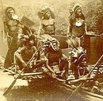 Cannibals in New Guinea