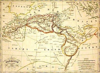 Barbary map
