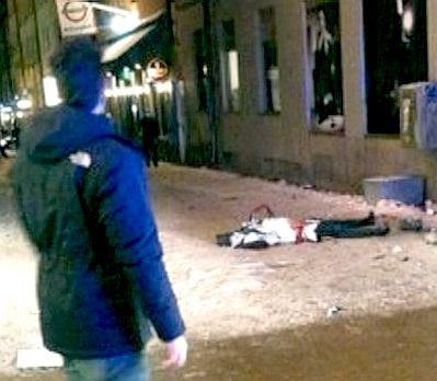 Stockholm bombing
