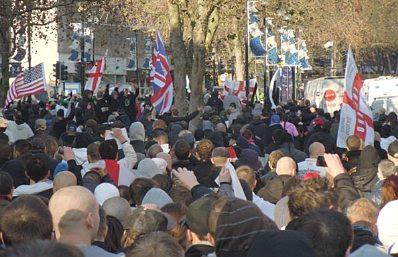 EDL demo, Peterborough #1