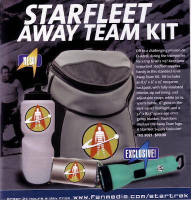 Trek Nostalgia Starfleet Gear
