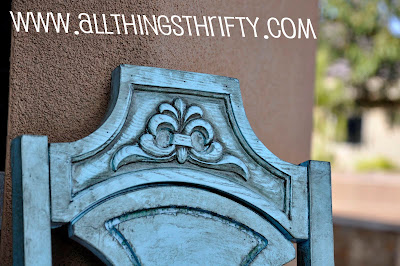 Do you want to learn how to create this look with paint and glaze? If so,  here is GLAZING Furniture 101. - Glazing Furniture 101 All Things Thrifty