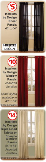 Curtains Can Be EX PEN SIVE And When You Are Going For A Solid Colored Panel Why Not Get It Less