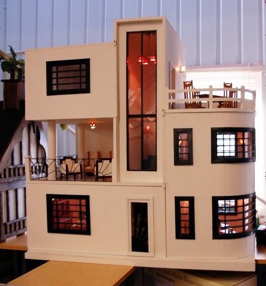 Art Deco Homes: Dream Dollhouses: Art Deco Dream House