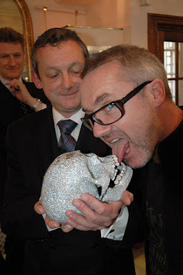 The Masticator Damien Hirst For The Love Of God